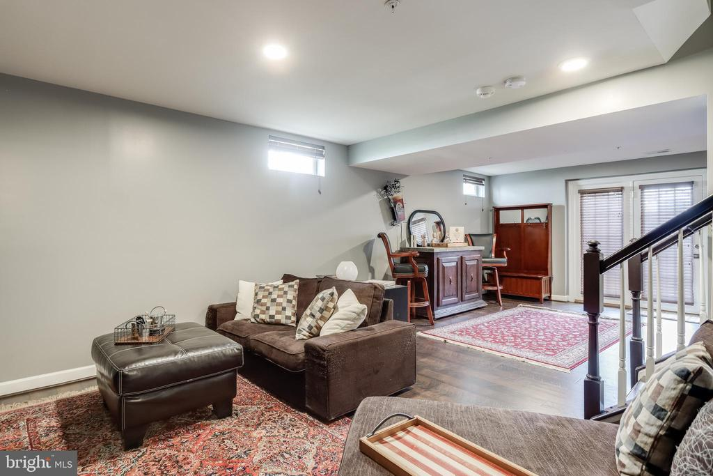 Basement is large and bright - 113 MAROON CT, FREDERICK