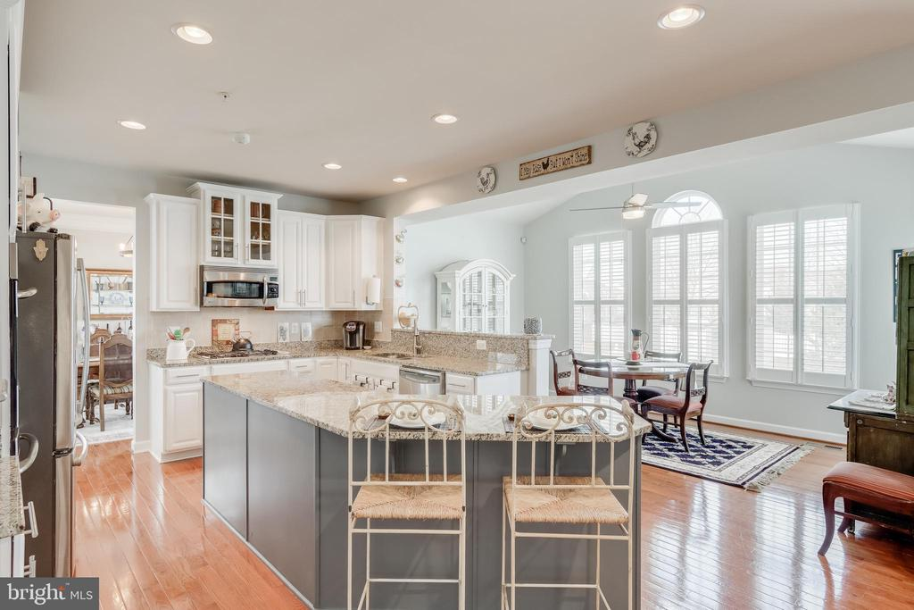 View of kitchen to sun room/breakfast room - 113 MAROON CT, FREDERICK