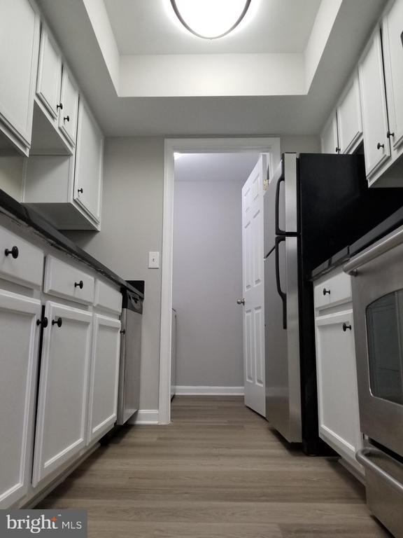 Kitchen3 - Inset ceiling and Laundry Room - 14905 RYDELL RD #204, CENTREVILLE