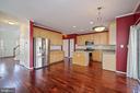 Kitchen looking toward foyer - 1306 MONROE ST, HERNDON