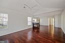 View from walk in closets - 1306 MONROE ST, HERNDON