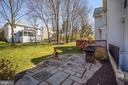 Wonderful patio shows grilling area - 1306 MONROE ST, HERNDON
