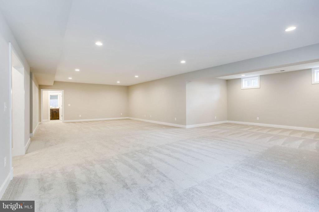 Basement is an option that can add up to 2,400sf - 8545 ELECTRIC AVE AVE, VIENNA