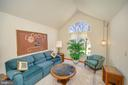 Formal living room w/ cathedral ceilings - 112 WOODLAWN TRL, LOCUST GROVE