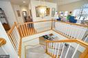 Amazing center stairway - 112 WOODLAWN TRL, LOCUST GROVE