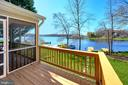 Screened porch and deck make entertaining easy - 112 WOODLAWN TRL, LOCUST GROVE
