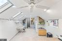 Loft Area in Owners' Suite w/ New Skylights - 13219 LANTERN HOLLOW DR, NORTH POTOMAC