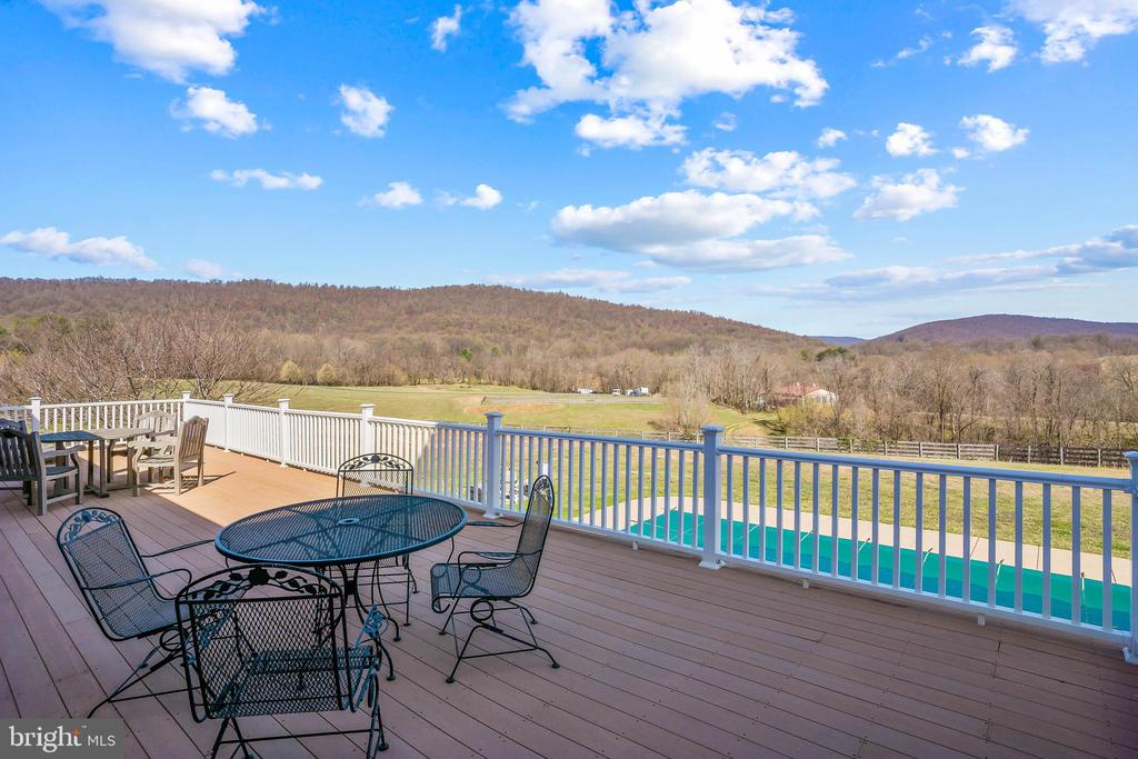 Beautiful Views Throughout Entire Deck - 11170 GEORGES MILL RD, LOVETTSVILLE