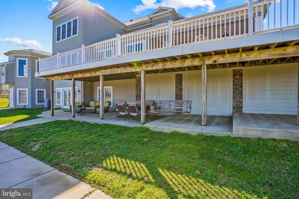 Patio - 11170 GEORGES MILL RD, LOVETTSVILLE