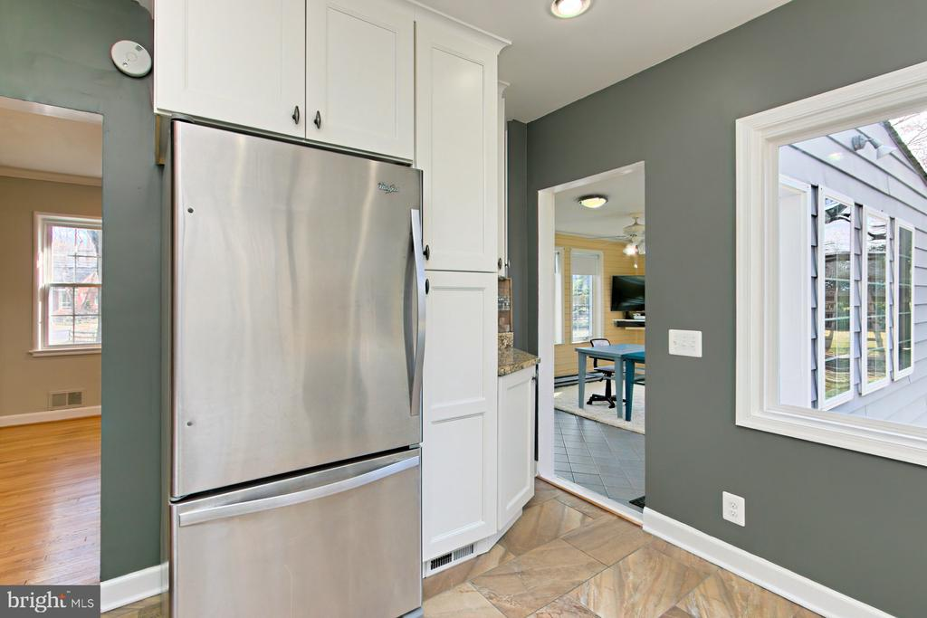 Kitchen off of Dining Room and Sun Room - 1201 SEATON LN, FALLS CHURCH