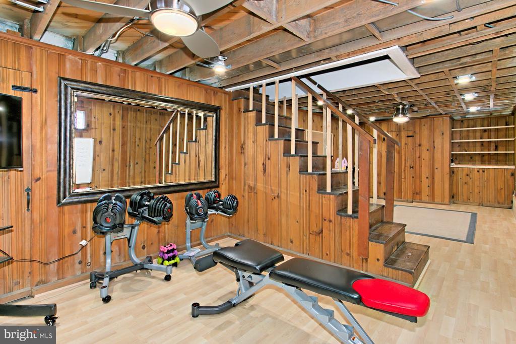 Plenty of room to workout - 1201 SEATON LN, FALLS CHURCH