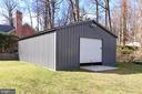 Huge Garage/Workspace - 1201 SEATON LN, FALLS CHURCH