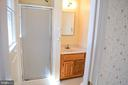 Master full bath - 119 SUNNY WAY, THURMONT