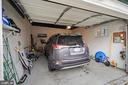 Over-sized 1-car garage for easy, secure parking - 3249 38TH ST NW, WASHINGTON