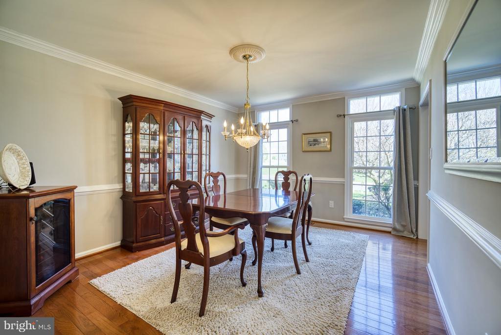 Formal Dining Room for entertaining - 5523 ASHLEIGH RD, FAIRFAX