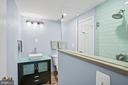 ...and has an attached upgraded full bath! - 10525 ELMENDEN CT, OAKTON