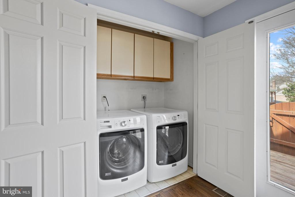 Did I mention...main level laundry area! - 10525 ELMENDEN CT, OAKTON