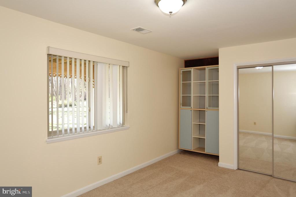 Lower level legal bedroom - 14908 TALKING ROCK CT, NORTH POTOMAC
