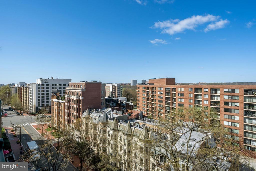 Great views from the 9th story (top floor) - 1111 25TH ST NW #918, WASHINGTON