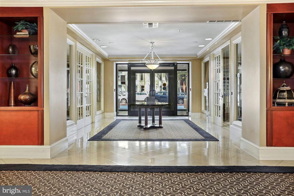 Upscale lobby - 1111 25TH ST NW #918, WASHINGTON