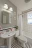 Full bath in tenant house - 21943 ST LOUIS RD, MIDDLEBURG