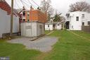 Rear with Parking Area - 818 N MARKET ST, FREDERICK