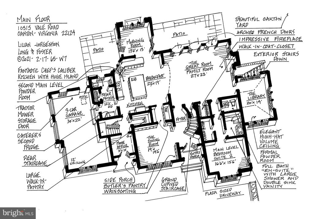 Main Level - 10515 VALE RD, OAKTON