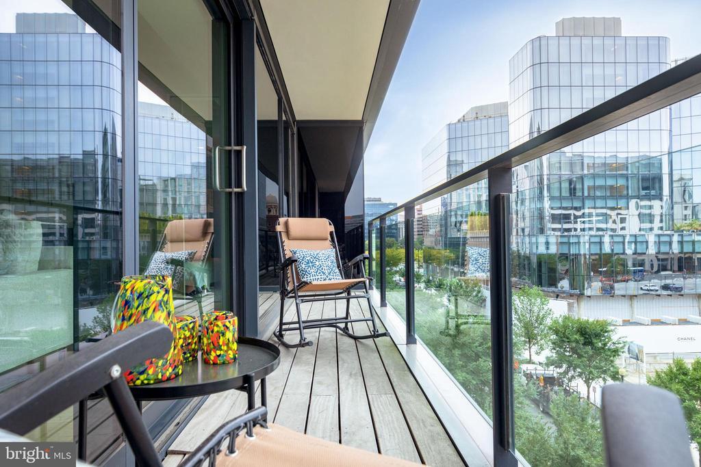 Private Balcony - 920 I ST NW #510, WASHINGTON