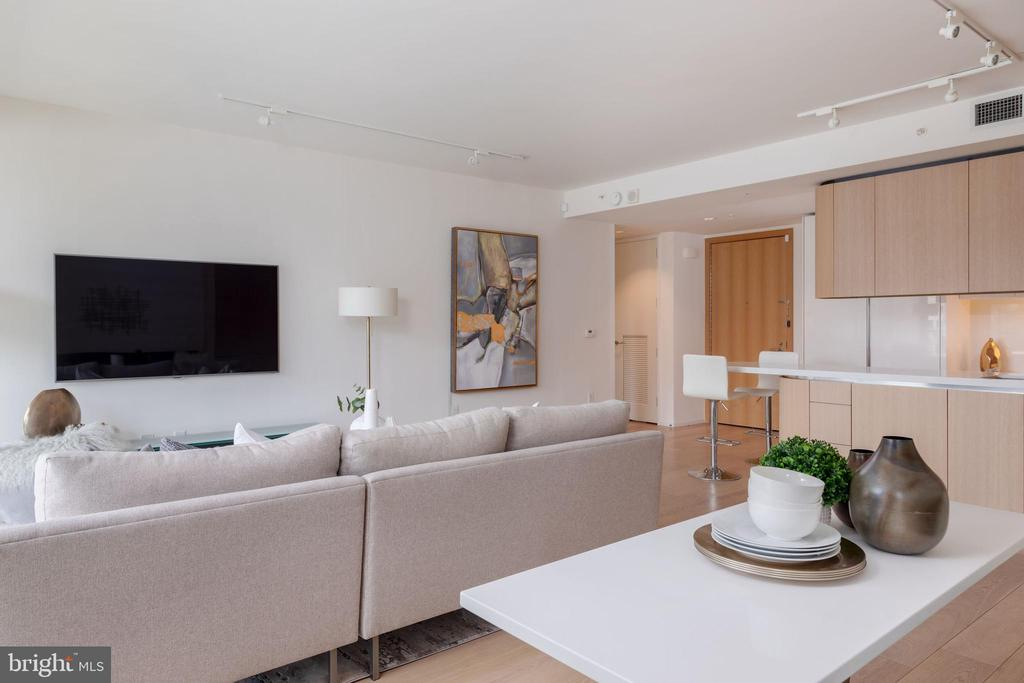 Living Room - 920 I ST NW #510, WASHINGTON