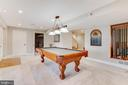 Spacious recreation room in basement - 620 SE CURTIN PL SE, LEESBURG