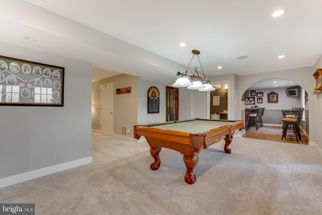 ALt view of large recreation room - 620 SE CURTIN PL SE, LEESBURG
