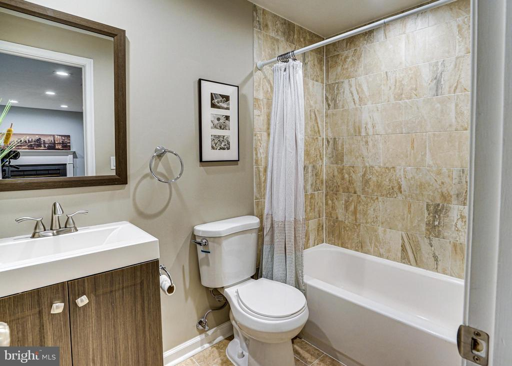 Bathroom 3 in lower level - 11811 GREAT OWL CIR, RESTON