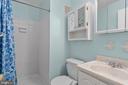 Primary bath - 6350 FENESTRA CT #129A, BURKE