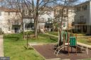 Courtyard with Tot Lot - 6350 FENESTRA CT #129A, BURKE