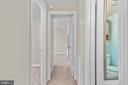 Hallway - 6350 FENESTRA CT #129A, BURKE
