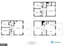 2-D Floor plans - 5731 MASON BLUFF DR, BURKE