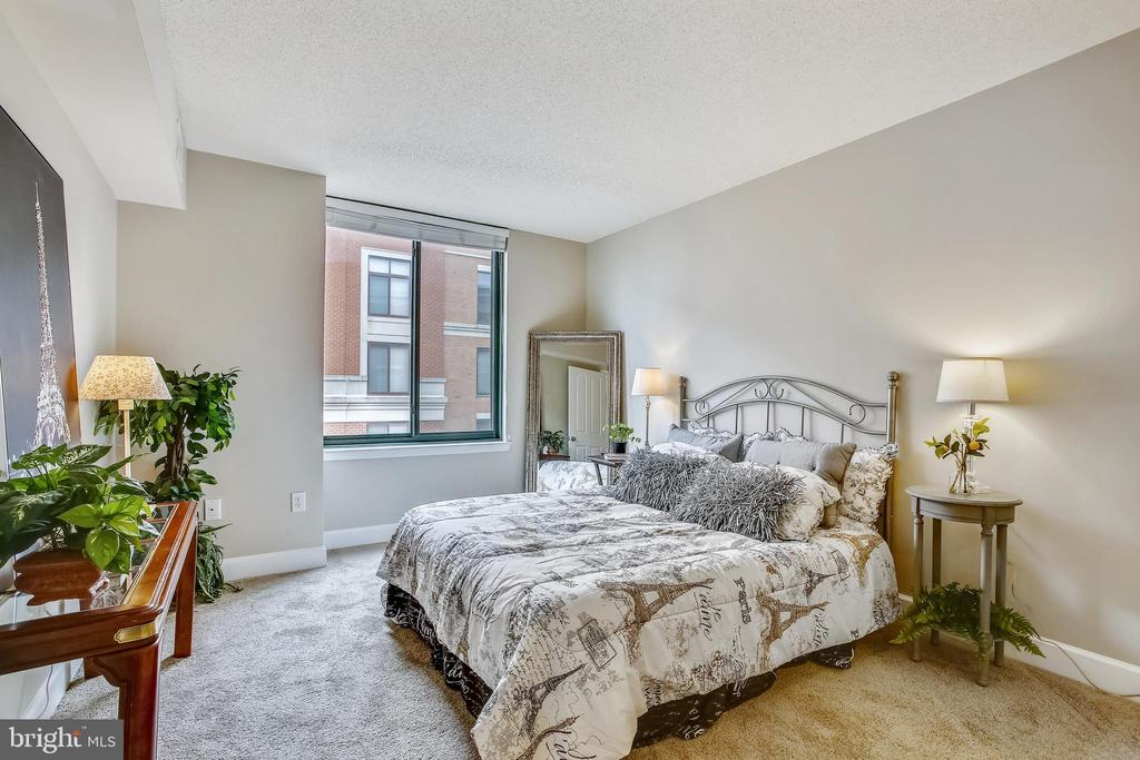 Spacious Bedroom #1 with new plush carpet - 1205 N GARFIELD ST #905, ARLINGTON
