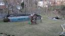 Backyard pool ,Play set Koi pond - 8703 SUDBURY PL, ALEXANDRIA