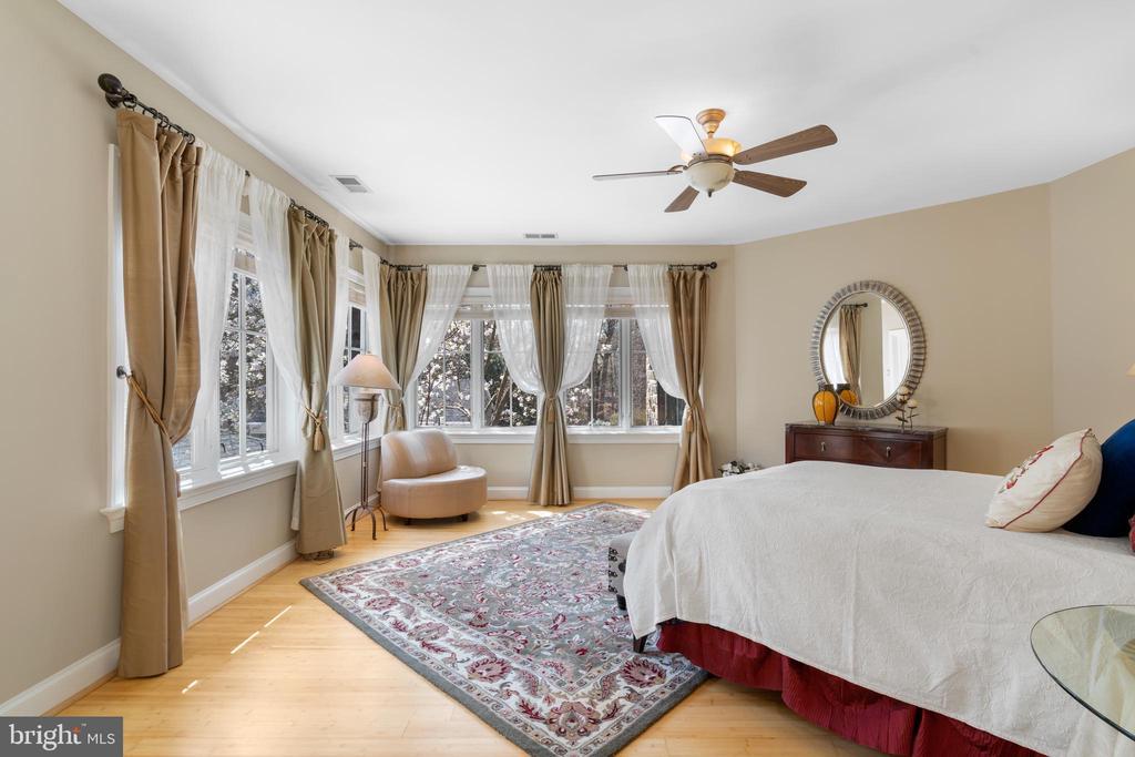 Upper level bedroom 2 - 658 LIVE OAK DR, MCLEAN