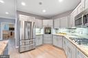 Recently updated kitchen - 658 LIVE OAK DR, MCLEAN