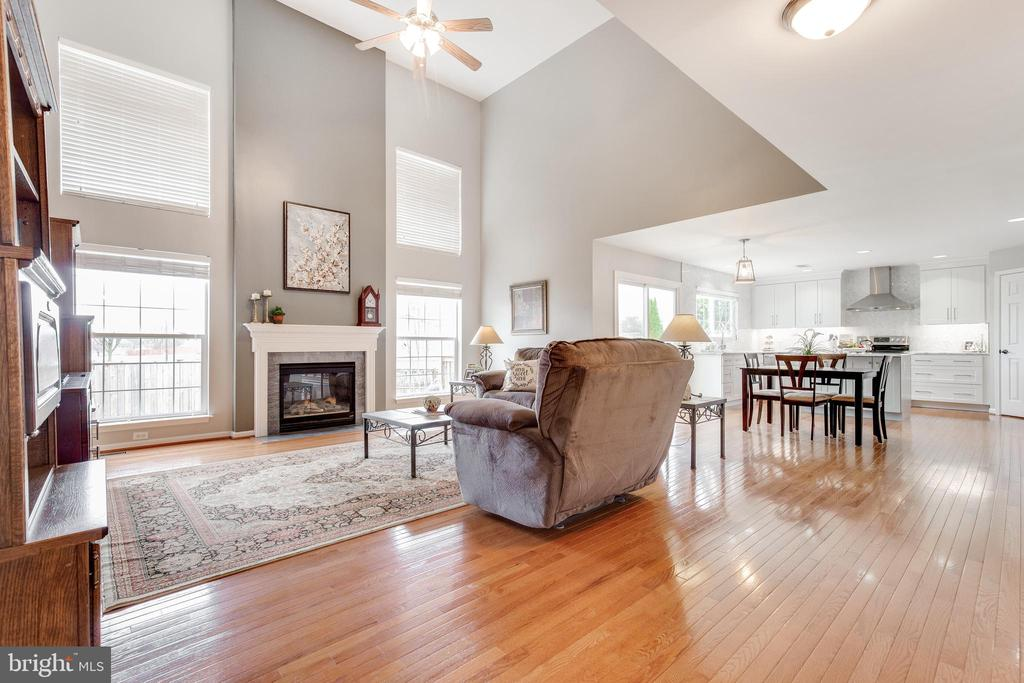 Open Floorplan - 9696 ANJOU CT, MANASSAS