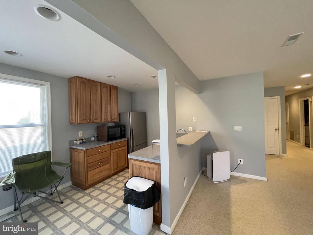 Basement kitchen area - 105 JEFFERSON AVE, LOCUST GROVE