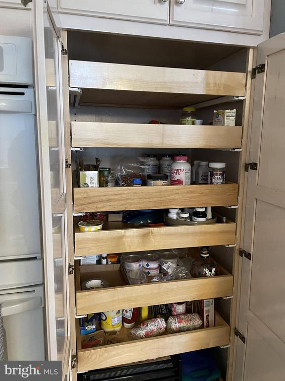 Kitchen cabinets have pull out drawers - 105 JEFFERSON AVE, LOCUST GROVE