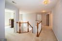 Bedroom level landing - 11413 RAMSBURG CT, NORTH POTOMAC