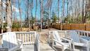 Large back yard with newer privacy fence - 3014 MEDITERRANEAN DR, STAFFORD