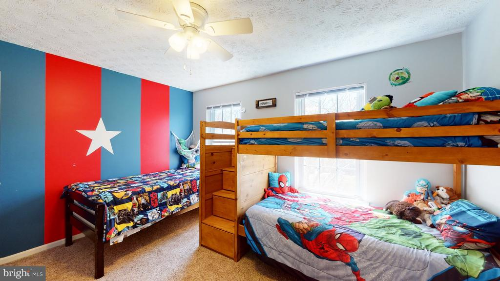 Bedroom 4 for heroes - 3014 MEDITERRANEAN DR, STAFFORD