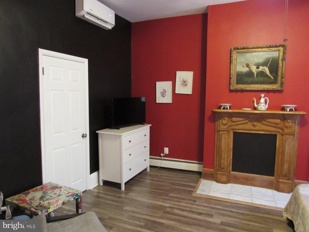 First-floor living room used as a bedroom - 1440 S ST NW, WASHINGTON