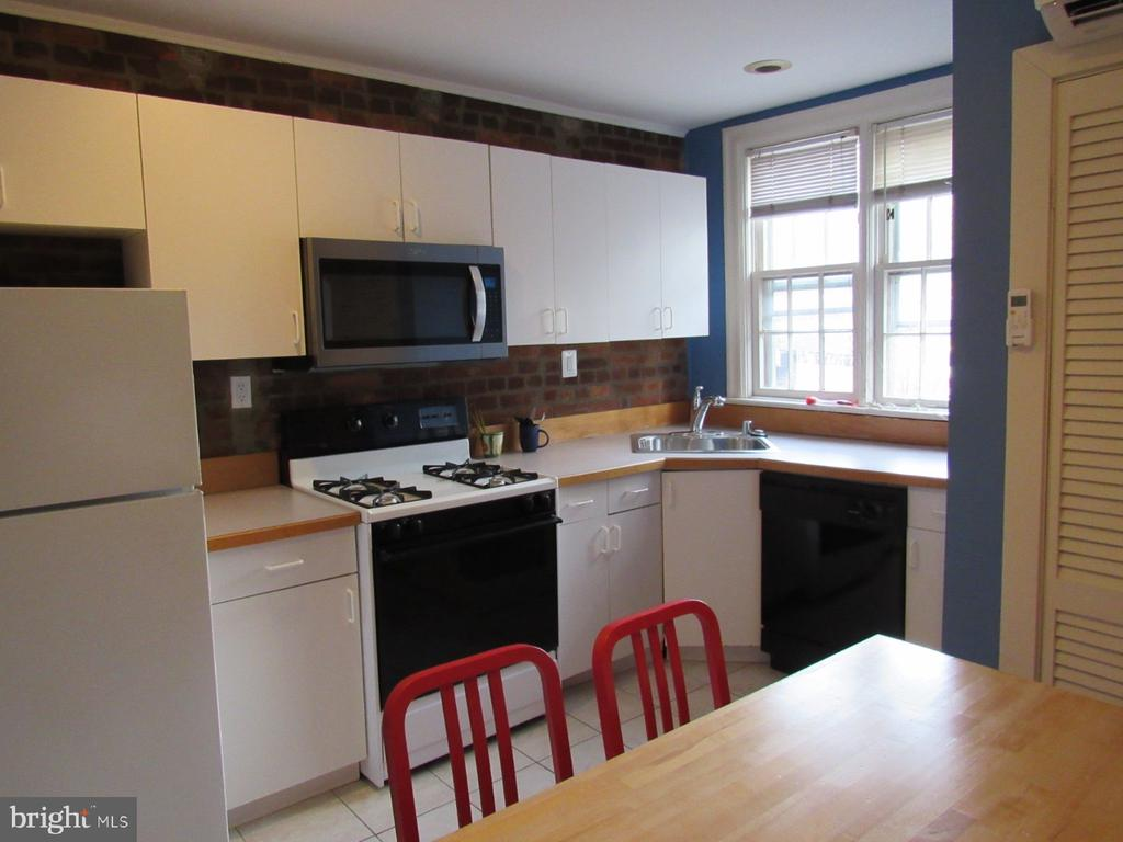 Second-floor kitchen - 1440 S ST NW, WASHINGTON