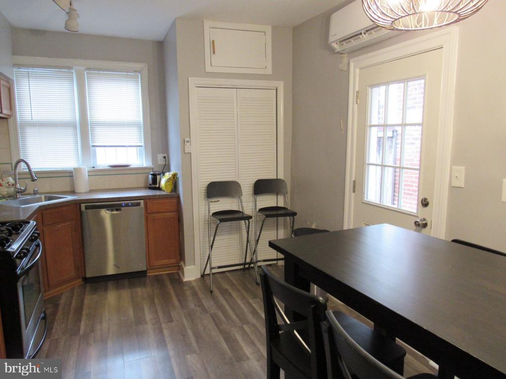 First-floor eat-in kitchen - 1440 S ST NW, WASHINGTON