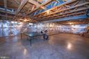 Spacious Basement - awaits your creativity - 11413 RAMSBURG CT, NORTH POTOMAC